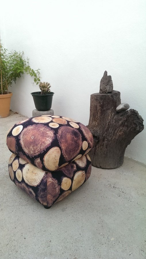 Foto puf tapizado de ruben lucena mart n 679637 - Tapiceros en granada ...