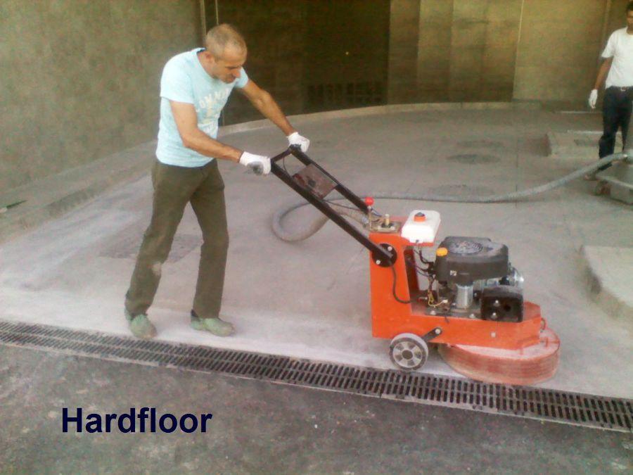pulido - lijado hormigón para instalar pavimento epoxi