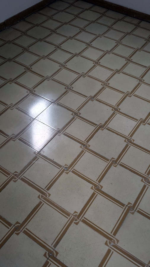 pulido mosaico hidraulico