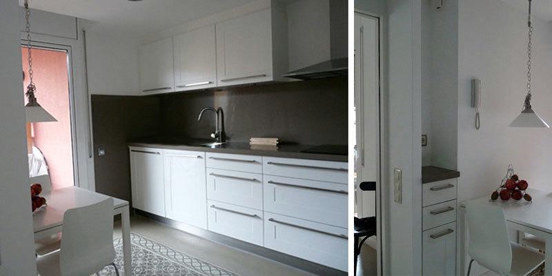 Foto raddi arquitectes reforma de cocina en un piso del - Reformas de pisos barcelona ...