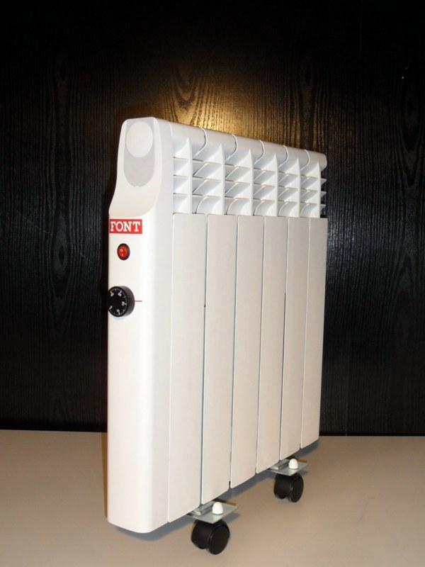 Foto radiador electrico de bajo consumo de font 343110 - Radiador aceite bajo consumo ...