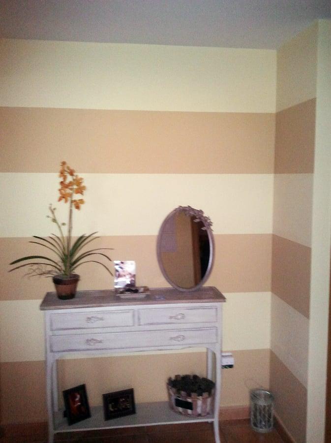Foto rayas horizontales de decoraciones herrero torrijos - Pintar paredes a rayas horizontales ...