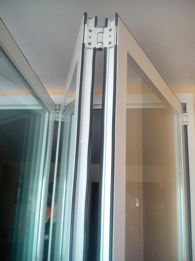 Foto reajuste puerta terraza de el genio del aluminio - Puerta terraza aluminio ...