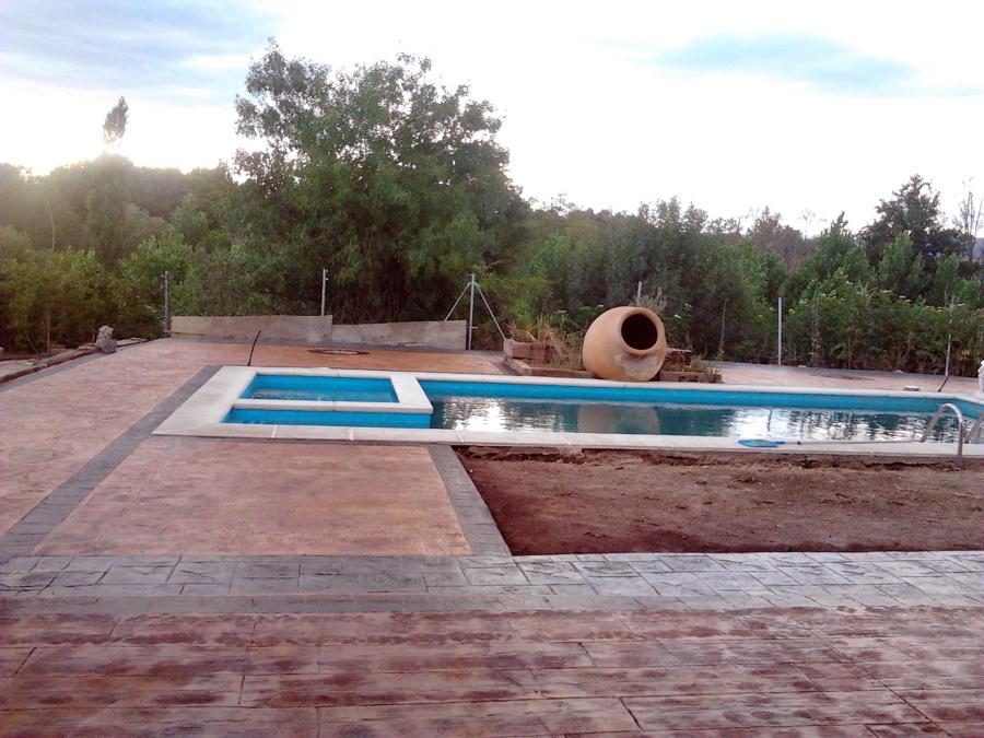 realizacion piscina y porche