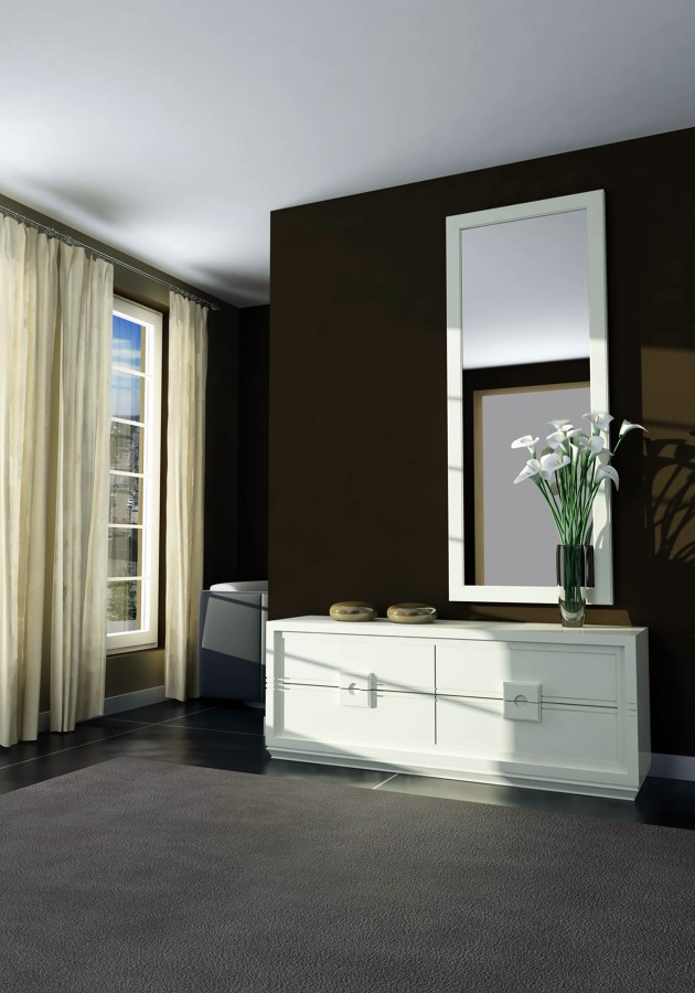 Decoracion mueble sofa recibidores con espejos - Recibidores con espejo ...