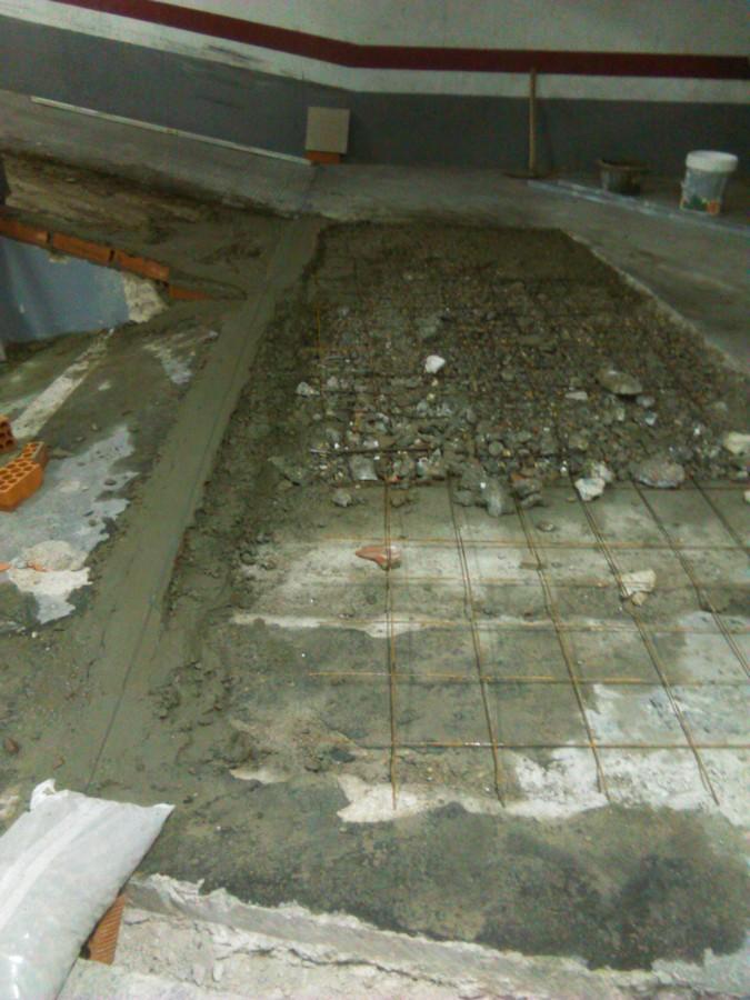 Foto recrecido de una rampa de garaje de stefan reformas - Rampas de garaje ...