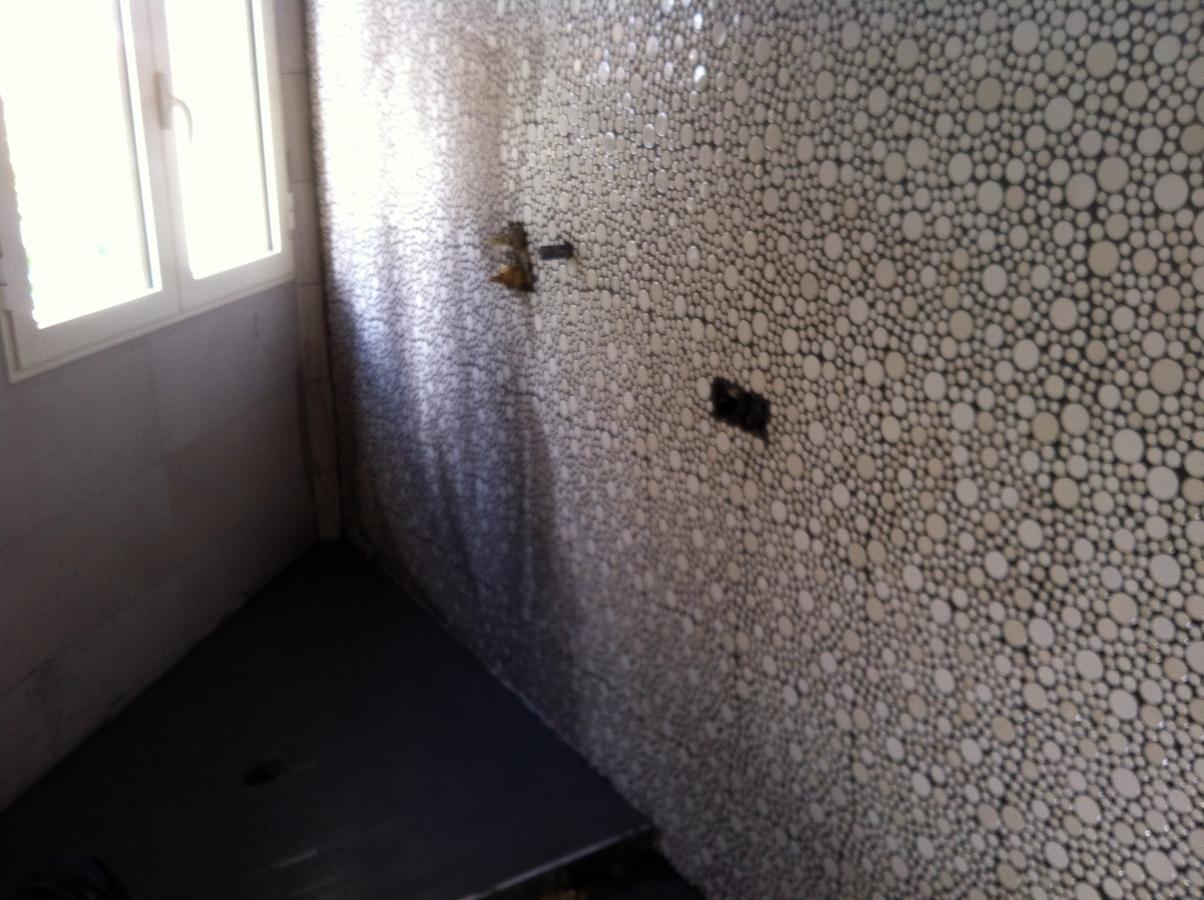 reforma baño con plato ducha de obra