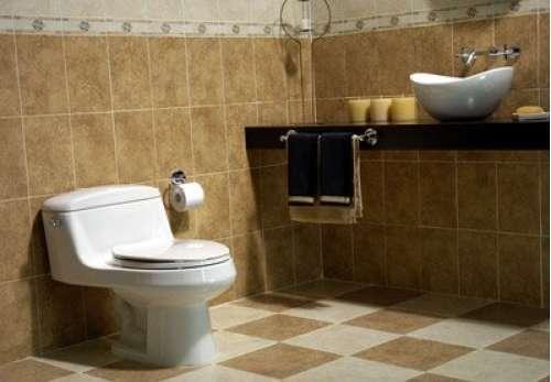 reforma baño rustico