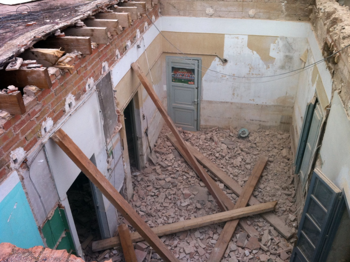 Foto 1 reforma de casa antigua de construcciones morales - Restaurar casas antiguas ...