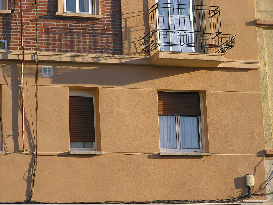 Reforma de fachadas.