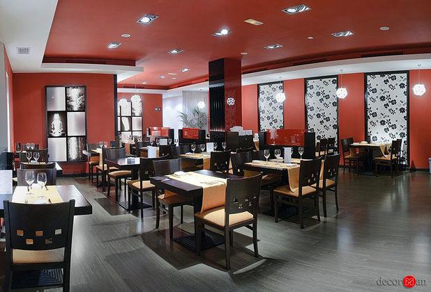 Reforma de restaurante de cocina asiática en madrid. Wok gold