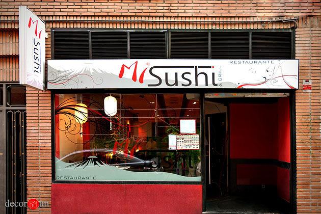 Reforma de restaurante en madrid. Mi Sushi