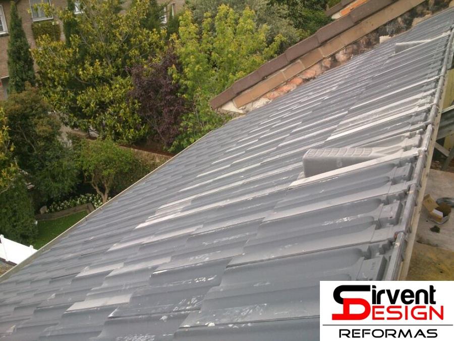 Reforma de tejado en Sabadel