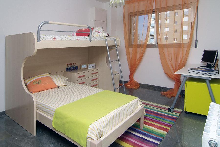 Reforma de vivienda: Dormitorio infantil