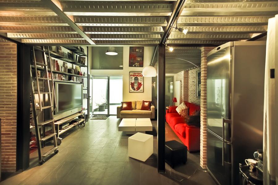Reforma despacho profesional tipo loft. 70m2