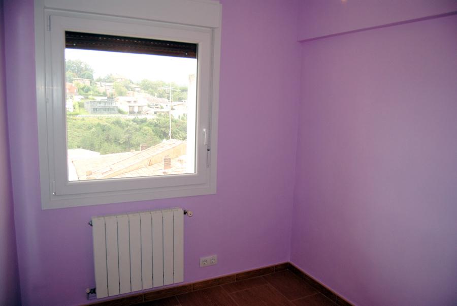 Reforma dormitorio y ventana Pvc.