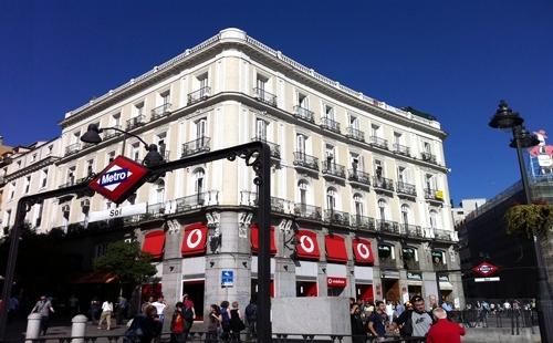 Reforma fachada Puerta del Sol-Madrid