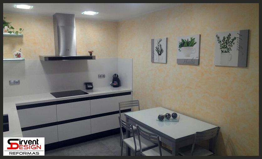 Foto reforma integral cocina en sabadell de sirventdesign - Cocinas sabadell ...