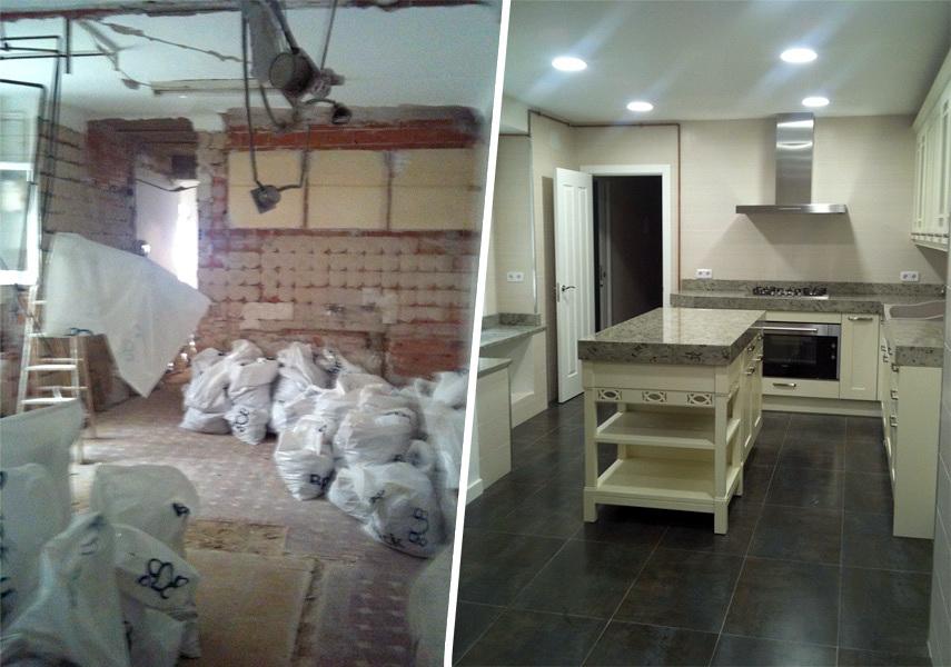 Foto reforma integral de piso de libelulab arquitectura - Precio reforma piso ...