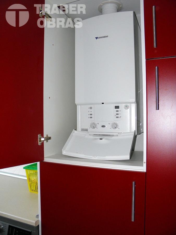 reforma integral de vivienda en c.Barrionuevo Madrid_caldera JUN