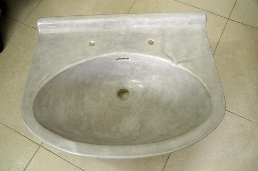 Foto reforma lavabo con microcemento despues de beny for Reforma lavabo precio