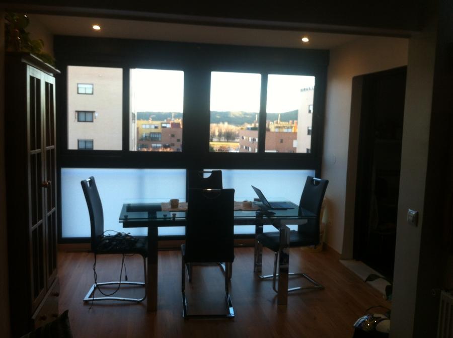Foto reforma para integrar terraza en sal n incluido for Integrar escritorio en salon