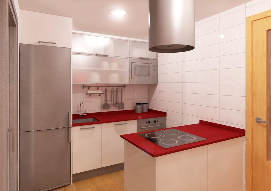 Cocinas pequenas con peninsula dise os arquitect nicos - Cocinas con peninsula ...