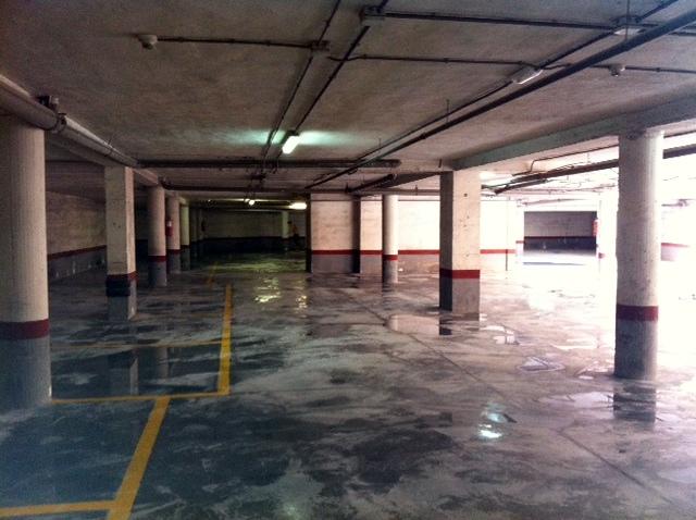 Reforma y rehabilitación de garaje comunitario.