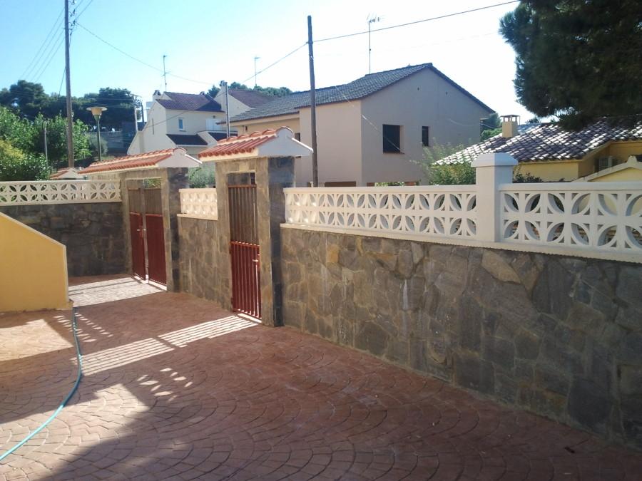Foto reformar valla con piedra natural de todo raul 690214 habitissimo - Vallas de piedra ...