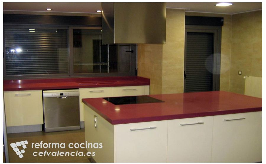 Foto reformas de cocinas en valencia y provincia de cef for Cocinas en valencia