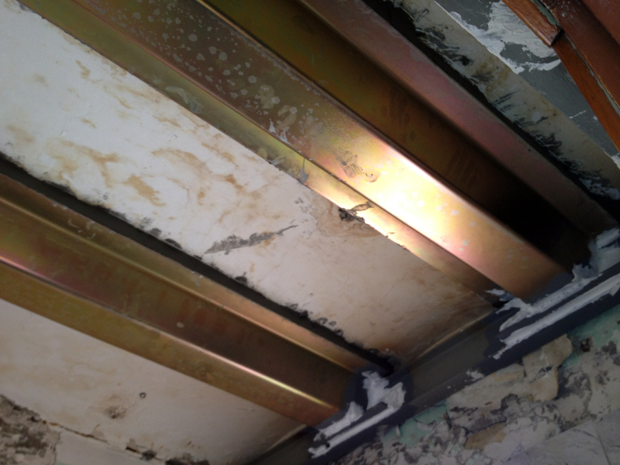 Refuerzo viguetas aluminosis con sistema MVV- Mecanovga