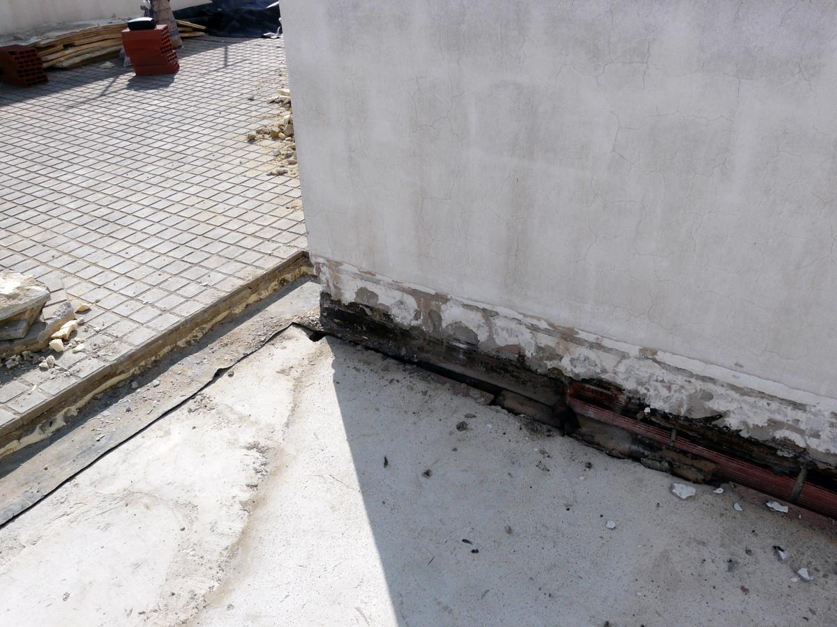 Rehabilitación e impermeabilización de terraza