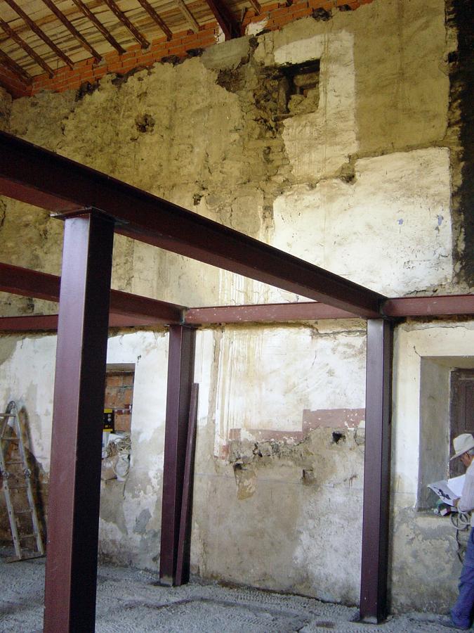 Foto rehabilitaci n casa antigua cristobal de la sierra salamanca de pgs construcciones - Subvenciones rehabilitacion casas antiguas ...