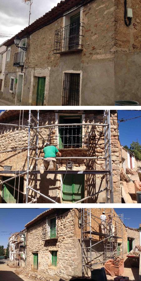 Foto rehabilitacion casa rural de rehabilitaciones alcala slu 384359 habitissimo - Rehabilitacion de casas ...