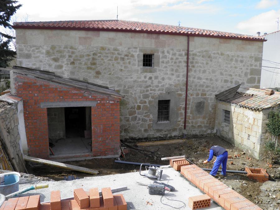 Foto rehabilitaci n de casa antigua de pgs construcciones - Rehabilitacion de casas antiguas ...
