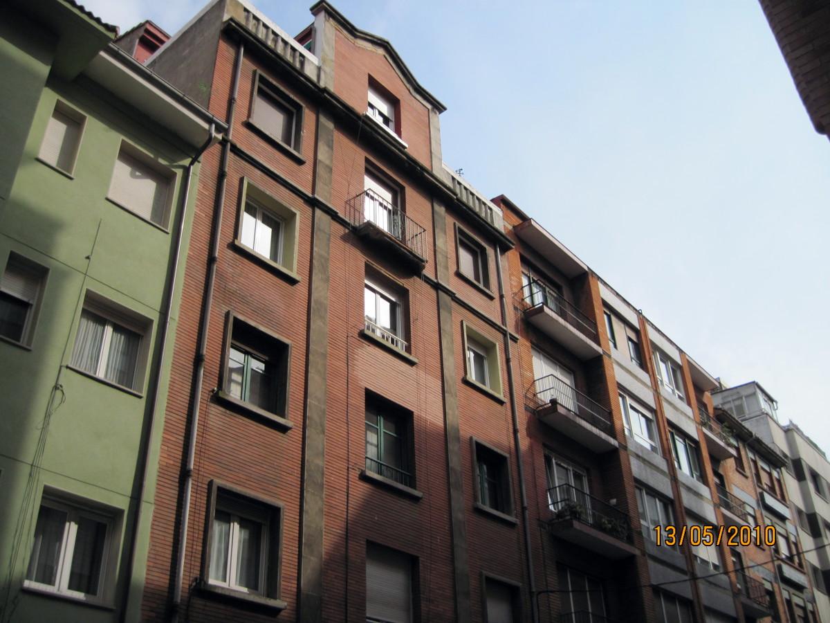 Rehabilitacion de fachada en Gijon calle San Rafael