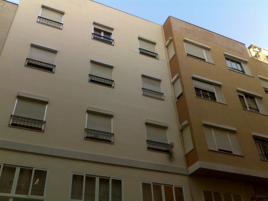 Rehabilitación de fachada en Palma centro