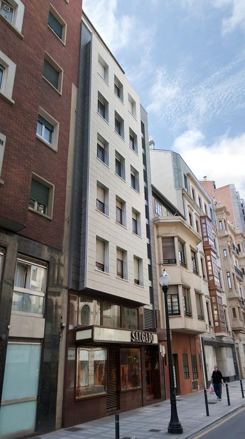 Rehabilitación de fachada ventilada. Sistema efitecvento