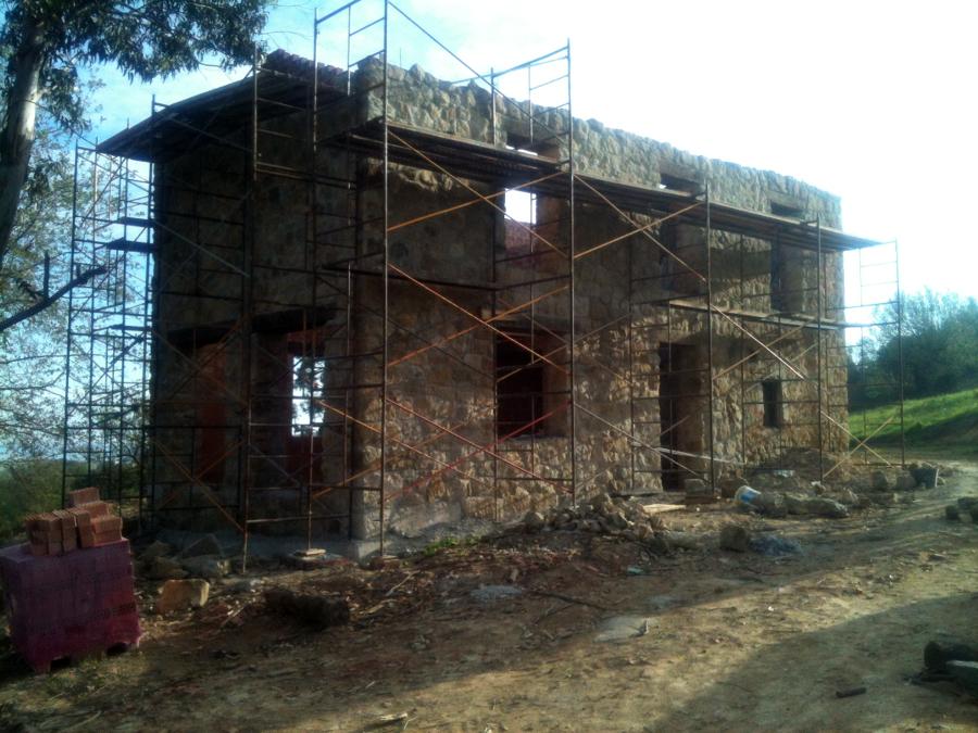 Rehabilitación de la cabaña