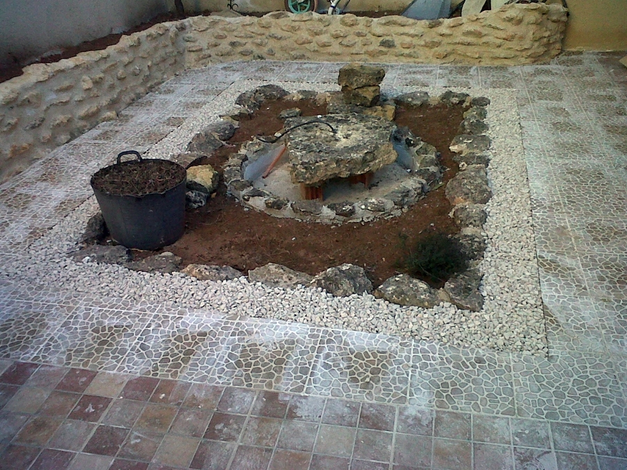 Rehabilitacion de patio.