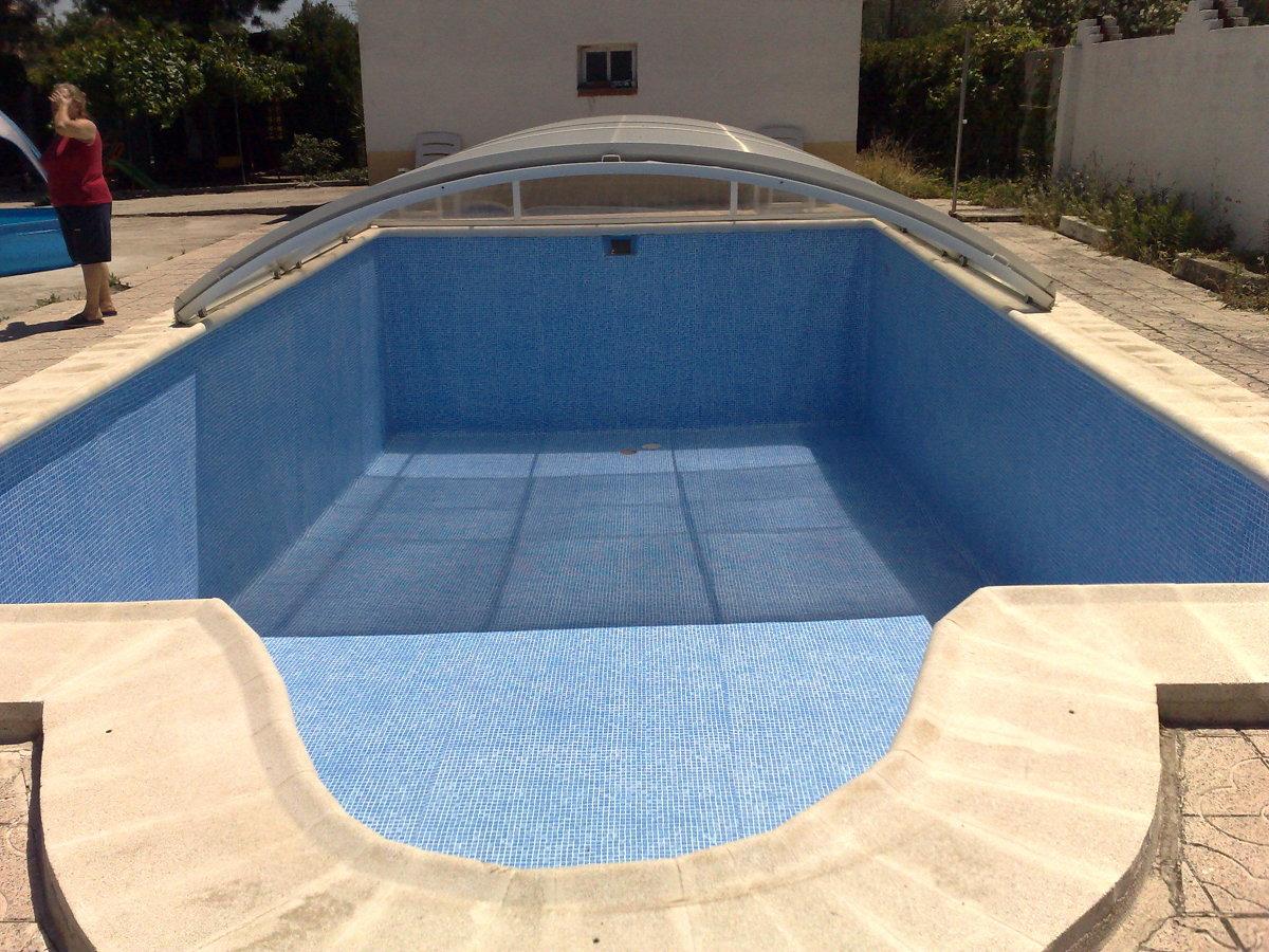 Foto rehabilitacion de piscina de boimco for Piscina cubierta illescas
