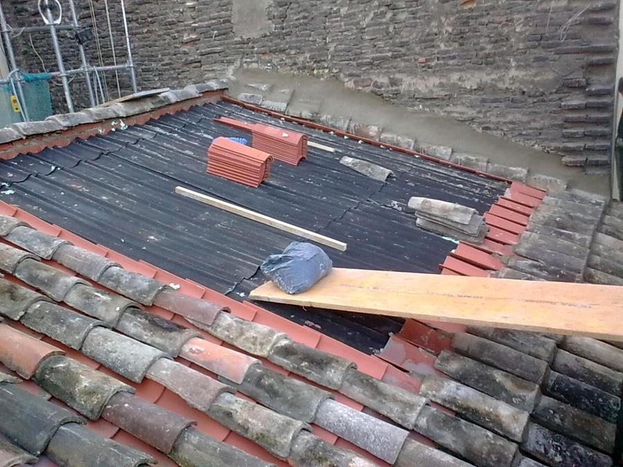 Rehabilitación de tejado