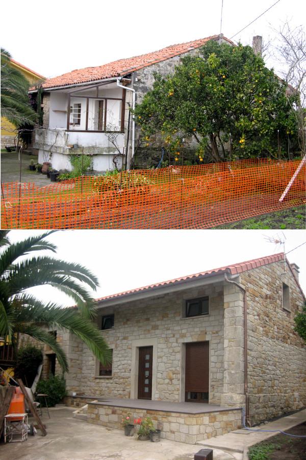 Rehabilitación de vivienda en Villaviciosa