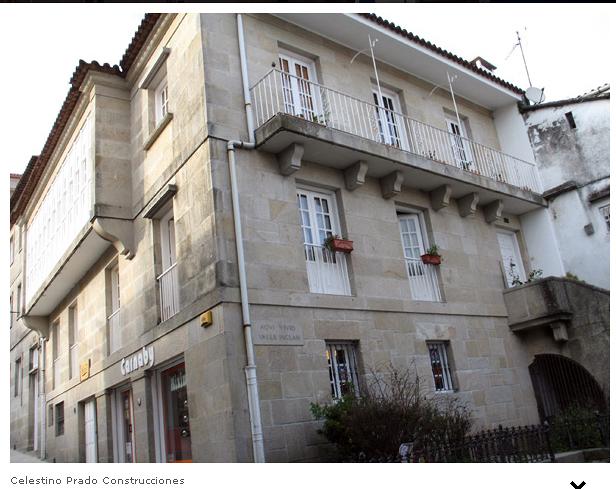 Rehabilitacion edificios -Casa Valle-Inclan  Pontevedra