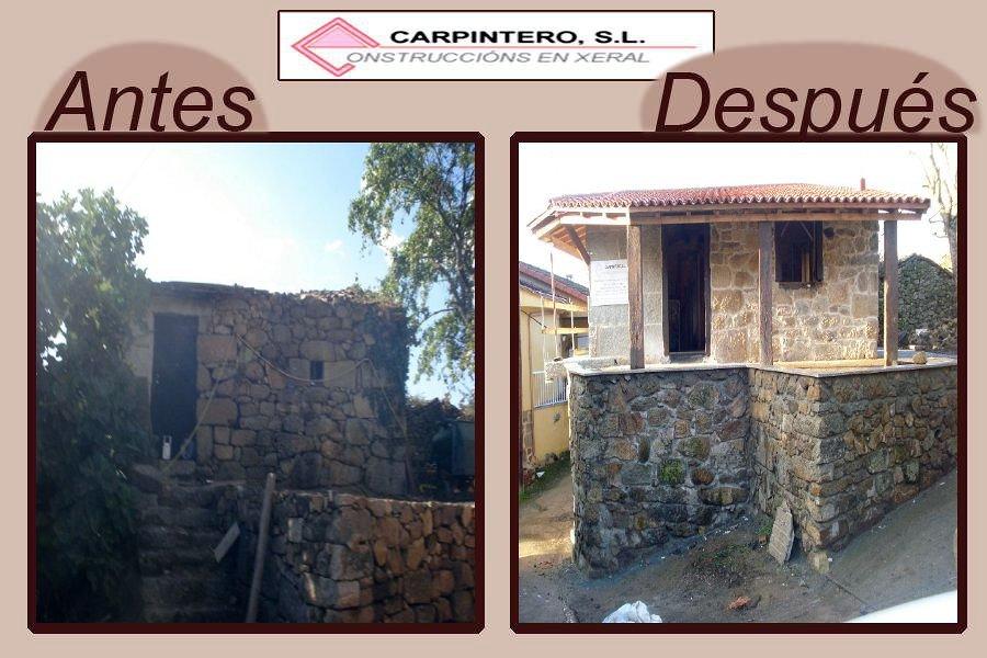 Foto rehabilitaci n en alongos ourense de construcciones a carpintero s l 182773 habitissimo - Carpintero en barcelona ...