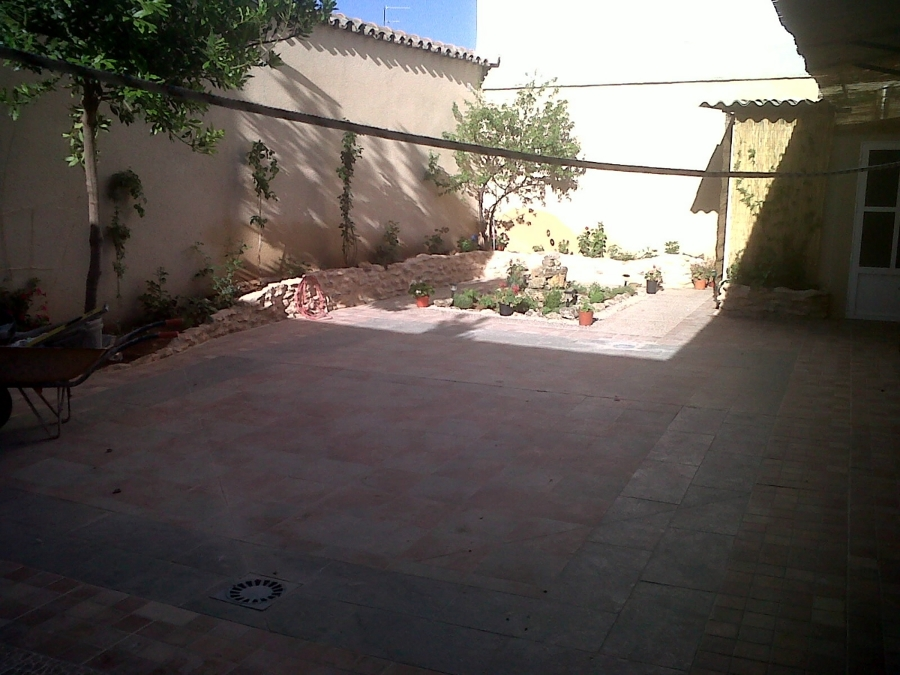 Rehabilitacion patio.