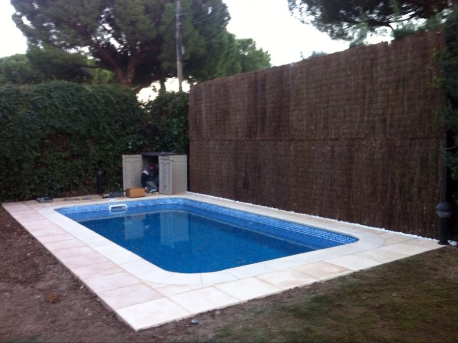 Rehabilitación piscina de fibra