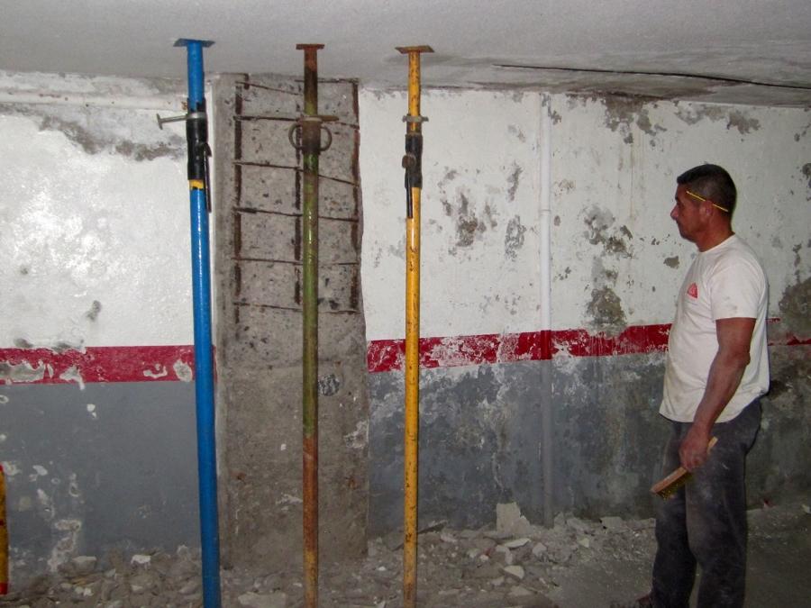 Foto rehabilitaci n y pintura de garaje de r s reformas - Pintura de garaje ...