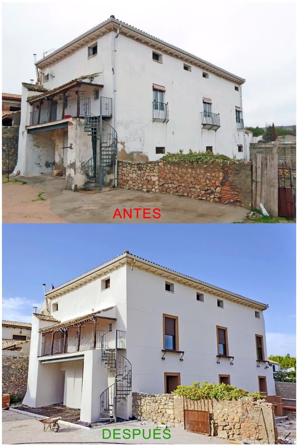 Foto rehabilitaci n y refuerzo de fachada antes y despues de proyectos de obras pemar 430428 - Casas reformadas antes y despues ...