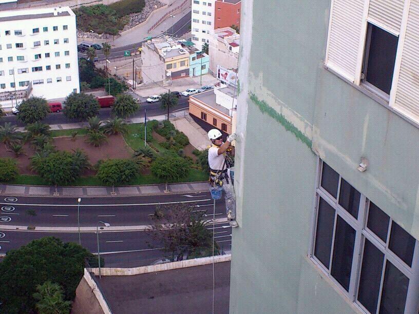 rehabilitando fachada